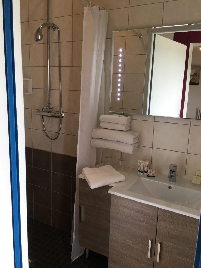 salle de bains mini suite
